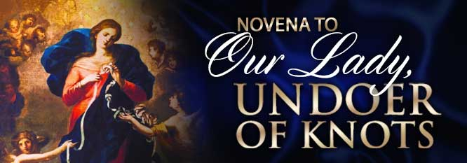 Novena to Our Lady Undoer of Knots Header