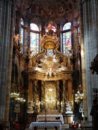 Perpetual Adoration at the Cathedral at Lugo