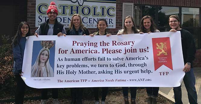 Catholic Student Rally
