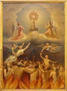 Souls in Purgatory and the Blessed Sacrament